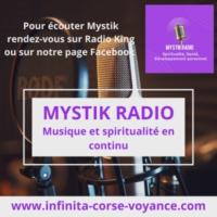 Logo of radio station Mystik Radio