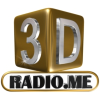 Logo of radio station 3D Radio.me