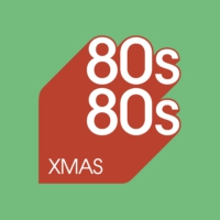 Logo of radio station 80s80s Christmas