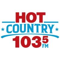 Logo of radio station CKHZ-FM Hot Country 103.5