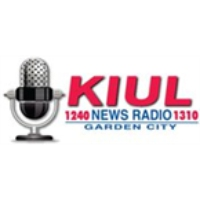 Logo of radio station KIUL News Radio