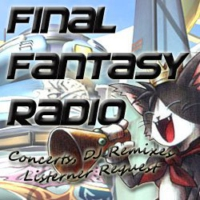 Logo of radio station Final Fantasy Radio