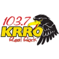 Logo of radio station KRRO 103.7