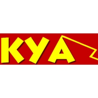 Logo of radio station KYAF
