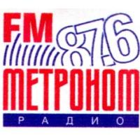 Logo of radio station METRONOM FM 87.6