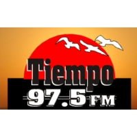 Logo of radio station Tiempo 97.5 FM