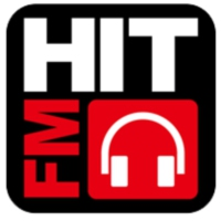 Logo of radio station Hit FM头部
