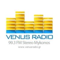 Logo of radio station Venus Radio Mykonos