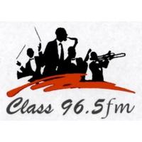 Logo of radio station Class FM 96.5