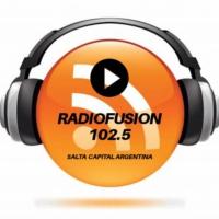Logo of radio station Radiofusion102.5
