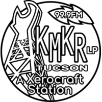 Logo of radio station KMKR-LP Tucson
