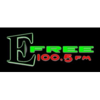 Logo of radio station KEFC E Free 100.5