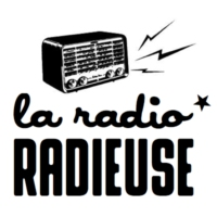 Logo of radio station La Radio Radieuse