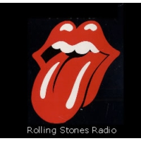 Logo of radio station Rolling Stones Radio