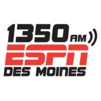 Logo de la radio 1350 ESPN Des Moines