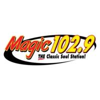 Logo de la radio KVMA Magic 102.9
