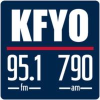Logo of radio station KFYO Radio