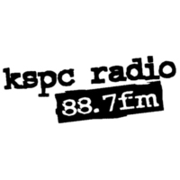 Logo of radio station KSPC 88.7FM