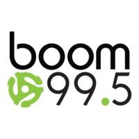 Logo of radio station CHOO-FM boom 99.5