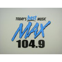 Logo of radio station MAX 104.9