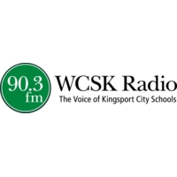 Logo of radio station WCSK Kingsport City Schools
