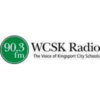 Logo de la radio WCSK Kingsport City Schools