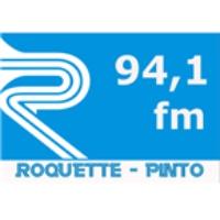 Logo de la radio FM 94 Roquete Pinto