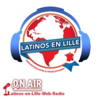 Logo of radio station Latinos-en-Lille-Web-Radio