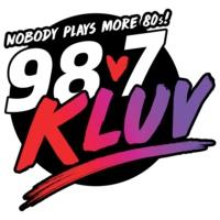Logo de la radio 98.7 FM KLUV