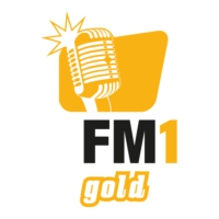 Logo of radio station FM1 Gold