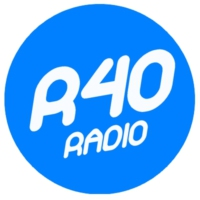 Logo of radio station R40 radio