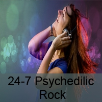 Logo of radio station 24-7 Psychedelic Rock