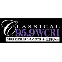 Logo of radio station WCRI Classical 95.9