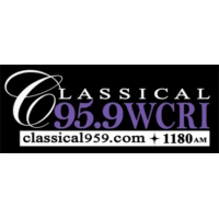 Logo of radio station WCRI Classical 95.9