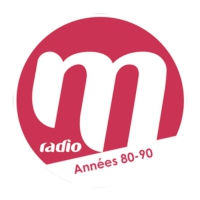Logo of radio station M RADIO ANNEES 80/90