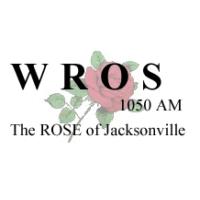 Logo de la radio WROS The Rose of Jacksonville 1050 AM