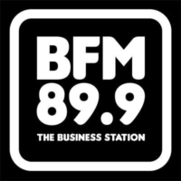 Logo of radio station BFM 89.9