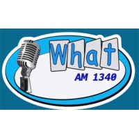 Logo of radio station WHAT 1340 AM
