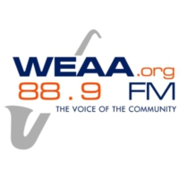 Logo of radio station WEAA 88.9FM