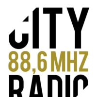 Logo of radio station City Radio 88.6 MHz