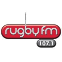 Logo of radio station Rugby FM