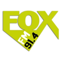 Logo of radio station FOX 91.4