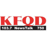 Logo of radio station KFQD 103.7