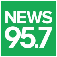Logo of radio station NEWS 95.7