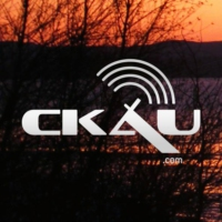 Logo of radio station CKAU FM