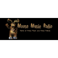Logo of radio station Moose Music Radio, St Catharines, Ontario, Canada