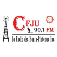 Logo of radio station CFJU 90.1 FM