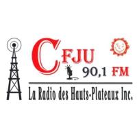Logo de la radio CFJU 90.1 FM