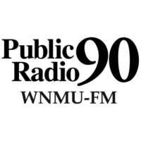 Logo of radio station WNMU Public Radio 90