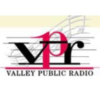 Logo of radio station KPRX Valley Public Radio